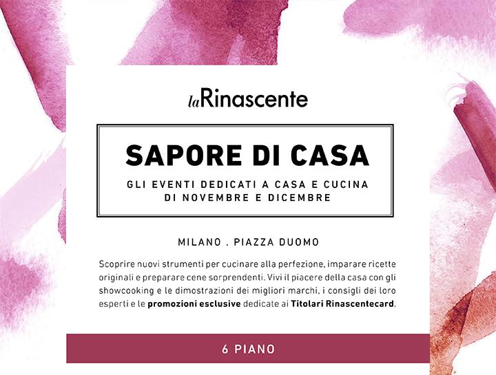 SAPORI DI CASA - LA RINASCENTE