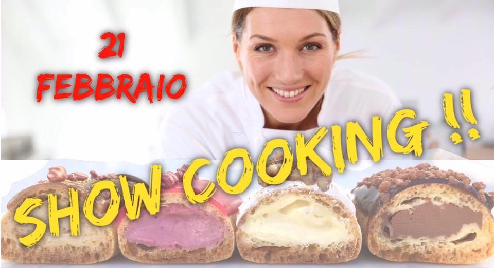 L'Éclair de Génie show cooking