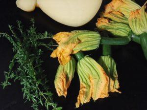 risotto ai fiori di zucchine ingredienti