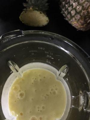 succo ananas frullato