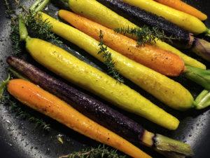 carote colorate glassate cottura