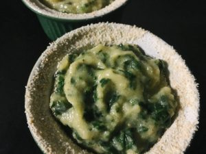 TORTINI DI SPINACI E PATATE