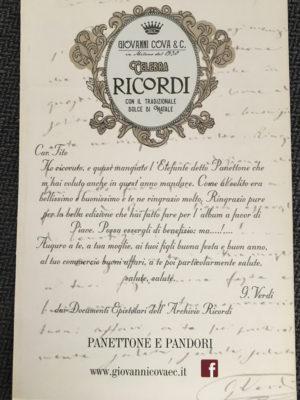 giovanni cova & C. due eccellenze milanesi per un progetto speciale locandina lettera verdi a ricordi