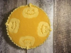 pumpkin pie da infornare