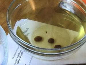 rognone di vitello del parco del ticino su crema di patate sfere di caffè' e sorbetto all'uva sferificazione inversa_6