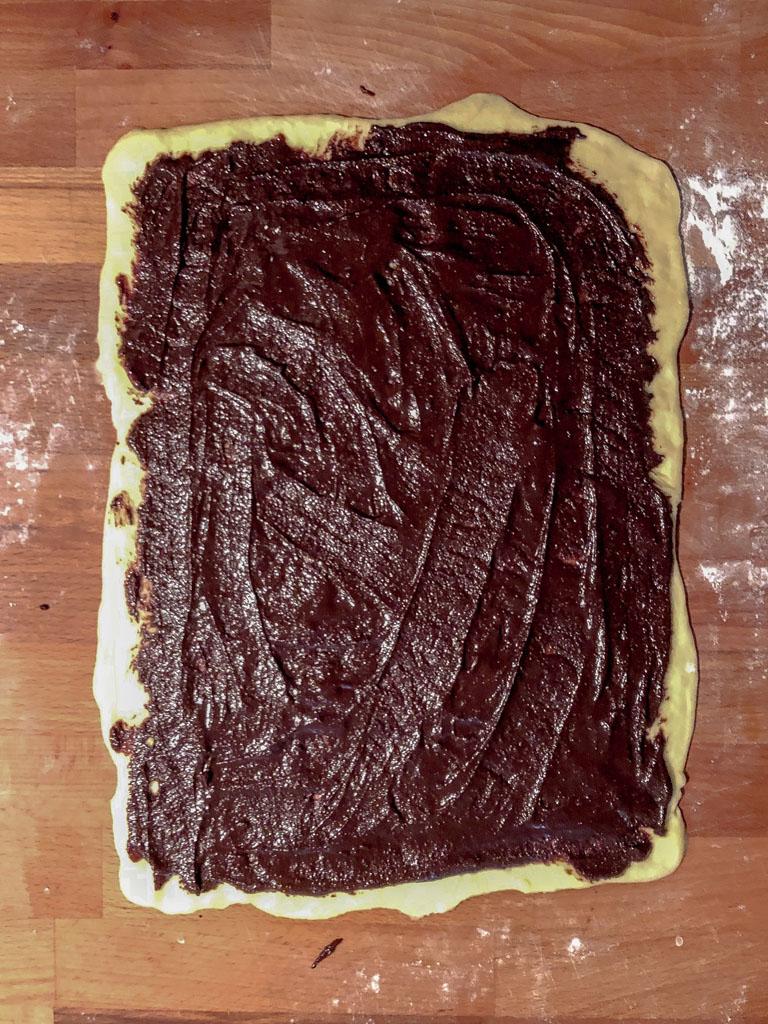 Jewish babka gourmama preparazione_2