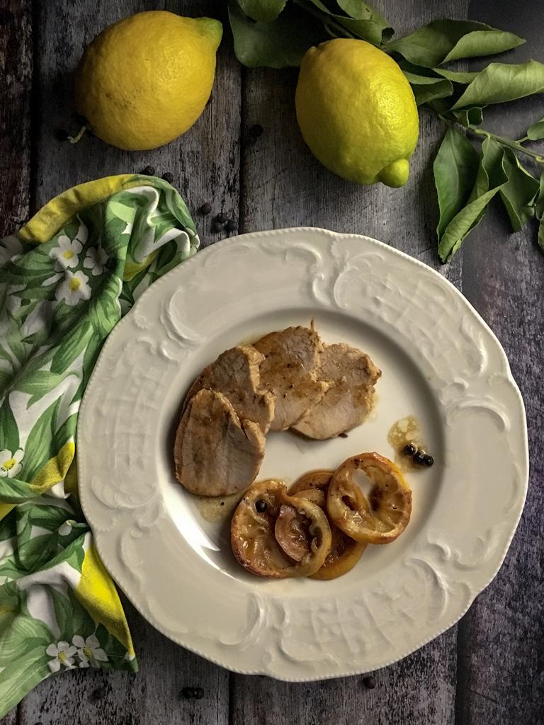 arrosto di vitello al limone e bacche di ginepro presentazione_1