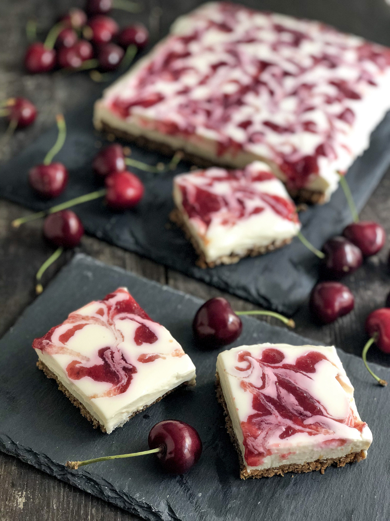 barrette di cheesecake ai frutti rossi gourmama preparazione_1