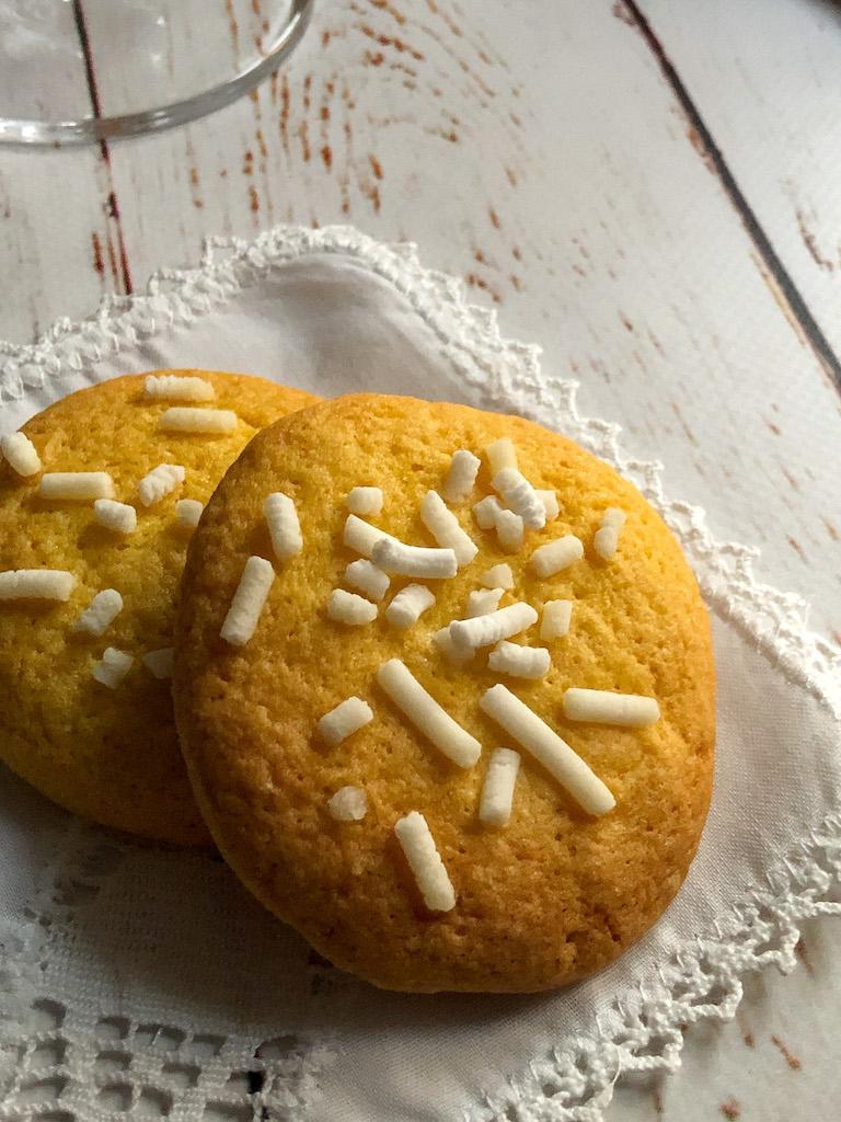 biscotti alla granella di zucchero gourmama presentazione dettaglio
