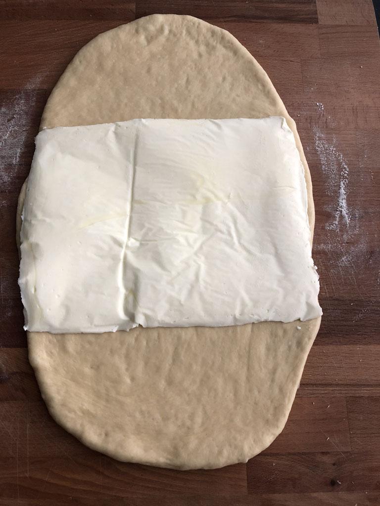 brioche sfogliata allo zucchero di philippe conticini gourmama pieghe