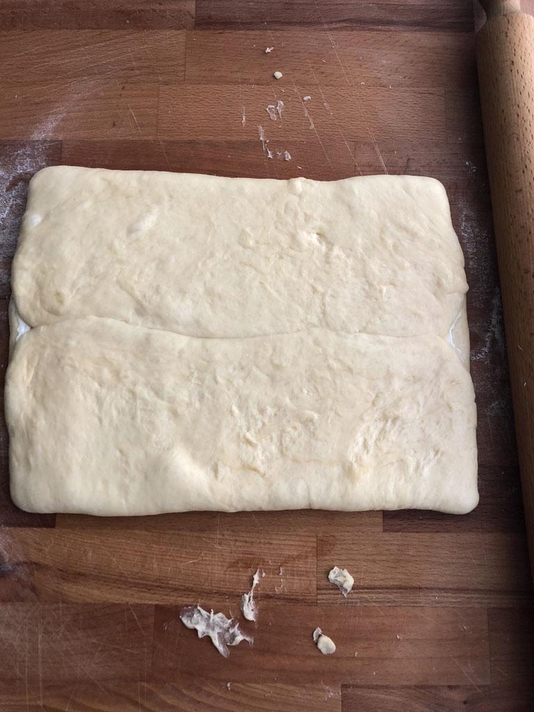 brioche sfogliata allo zucchero di philippe conticini gourmama pieghe_2
