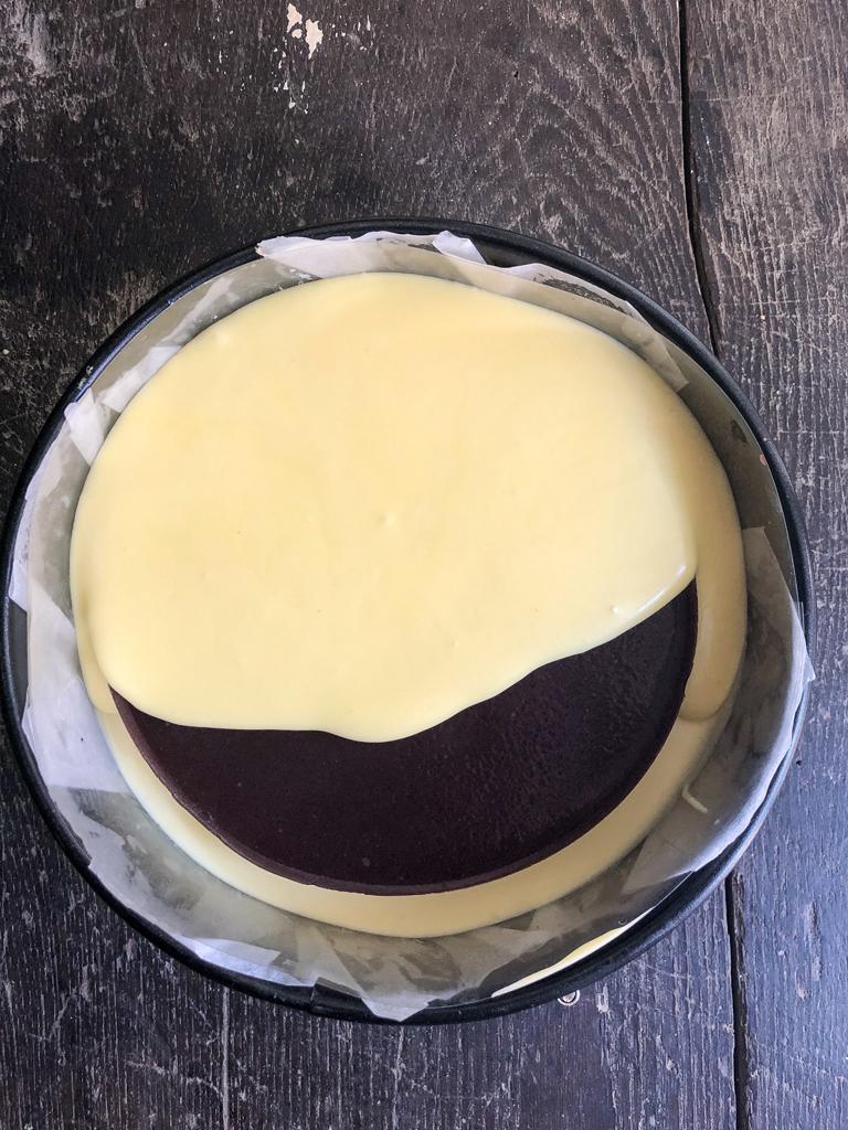 cheesecake con gelatina del bosco preparazione_8