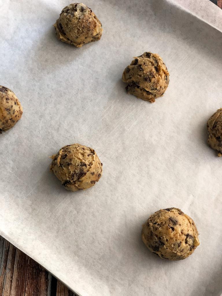 chocolate chip cookies preparazione gourmama_3