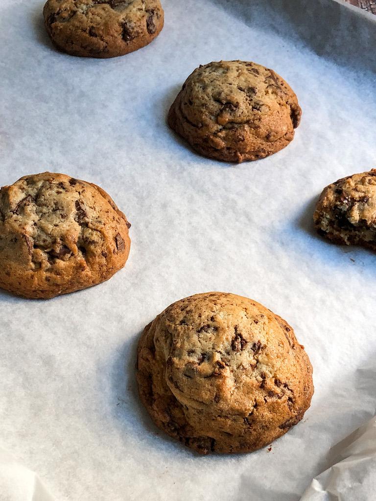 chocolate chip cookies preparazione gourmama_4