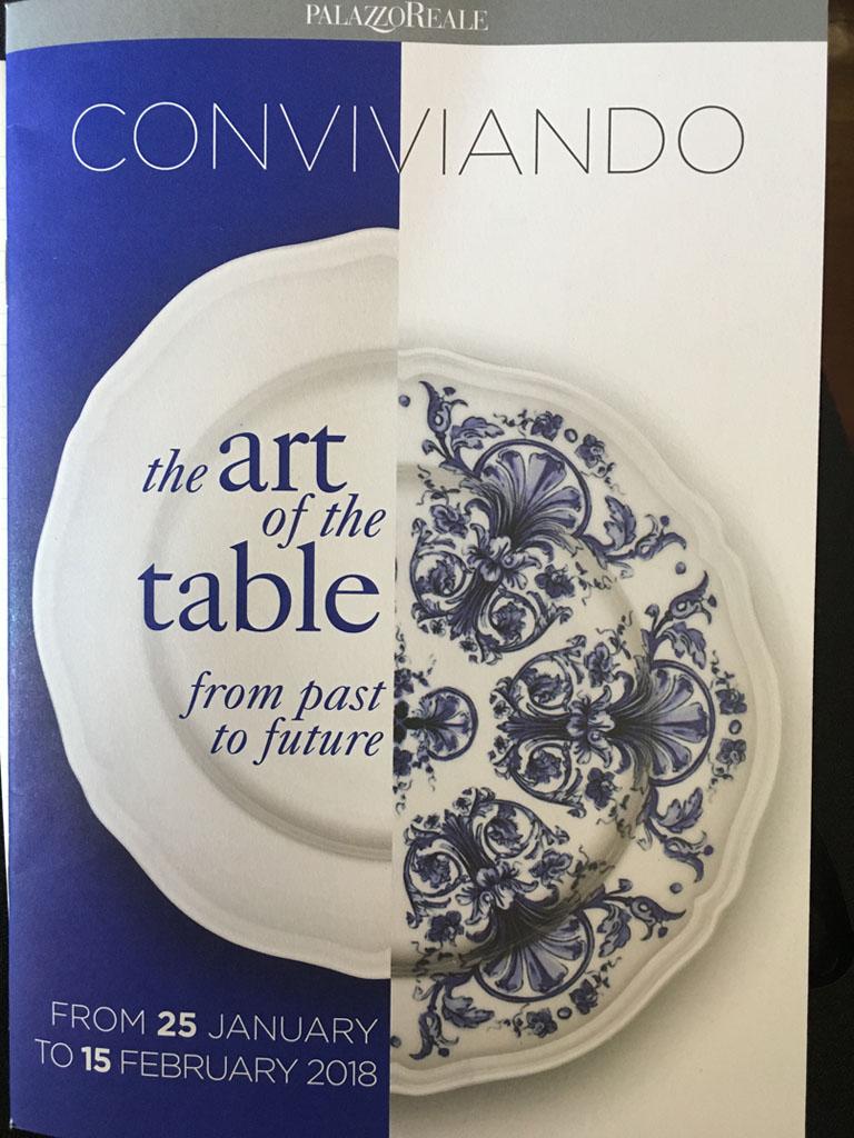 conviviando l'arte della tavola tra passato e futuro locandina