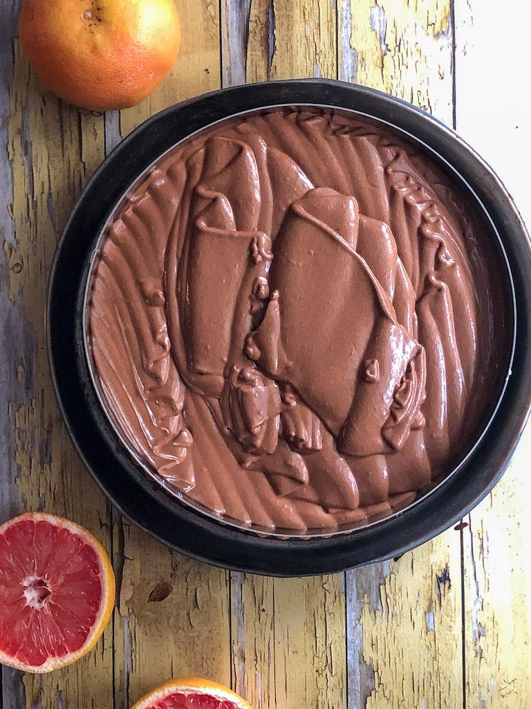 crostata al pompelmo rosa e mousse di cioccolato gourmama preparazione_12