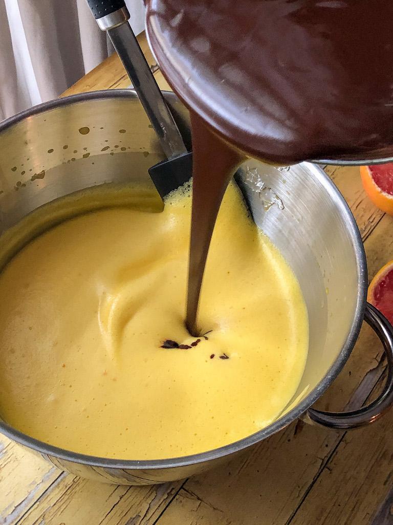crostata al pompelmo rosa e mousse di cioccolato gourmama preparazione_15