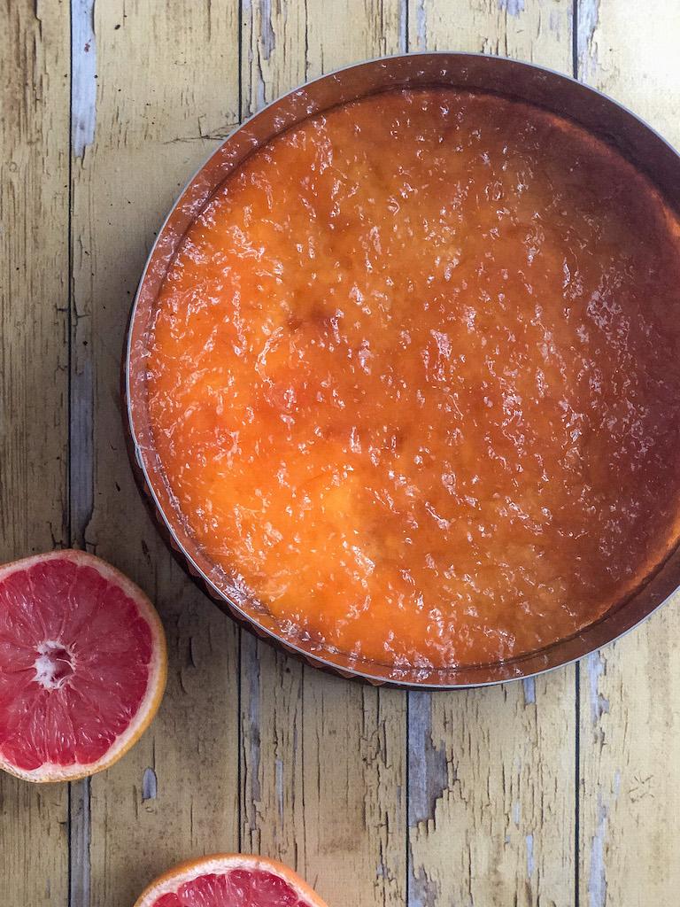 crostata al pompelmo rosa e mousse di cioccolato gourmama preparazione_8