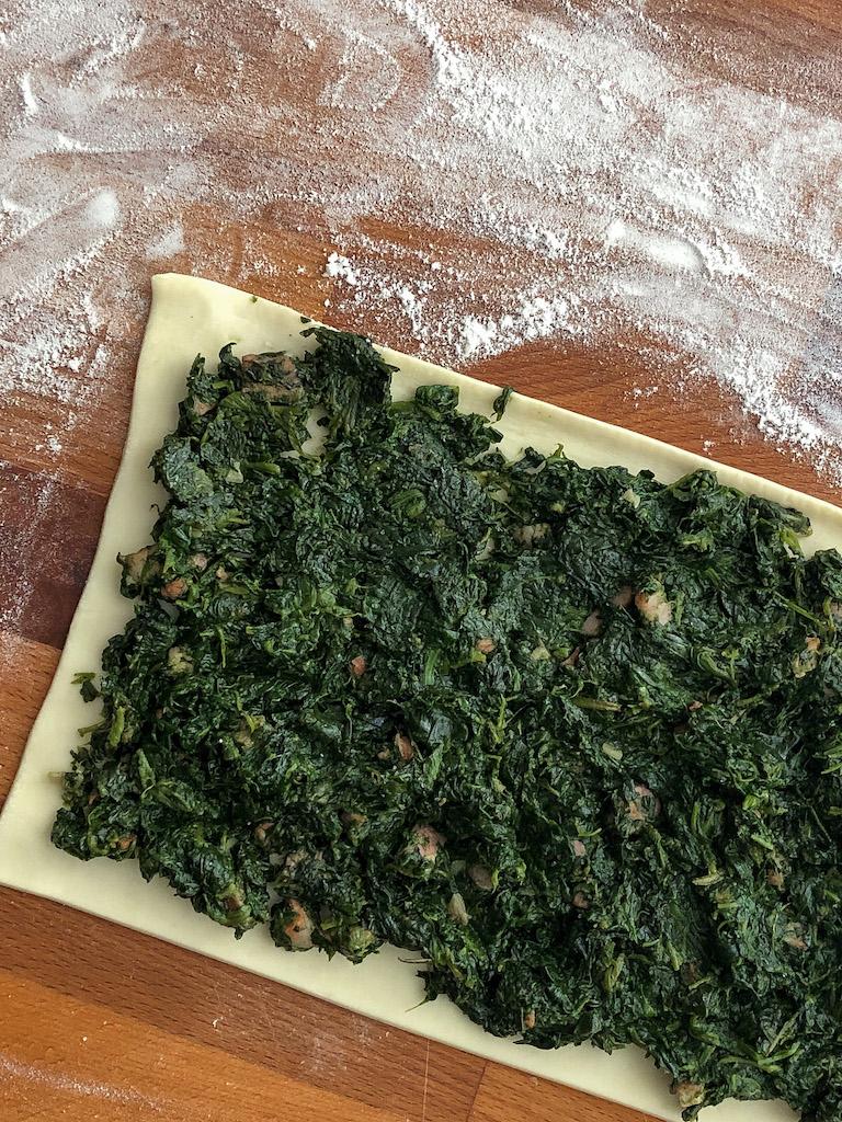 erbazzone emiliano gourmama preparazione_3