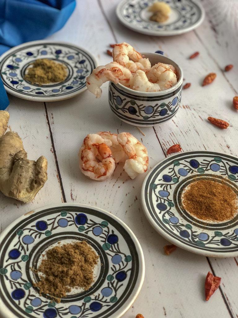 gamberi marinati alle spezie gourmama ingredienti