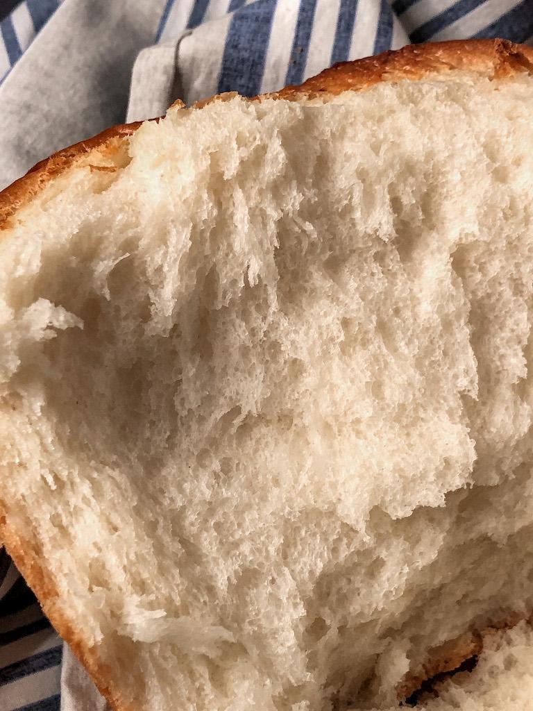 hokkaido milk bread presentazione dettaglio