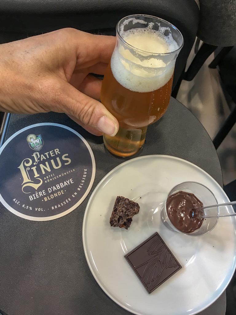 il cioccolato incontra la birra degustazione