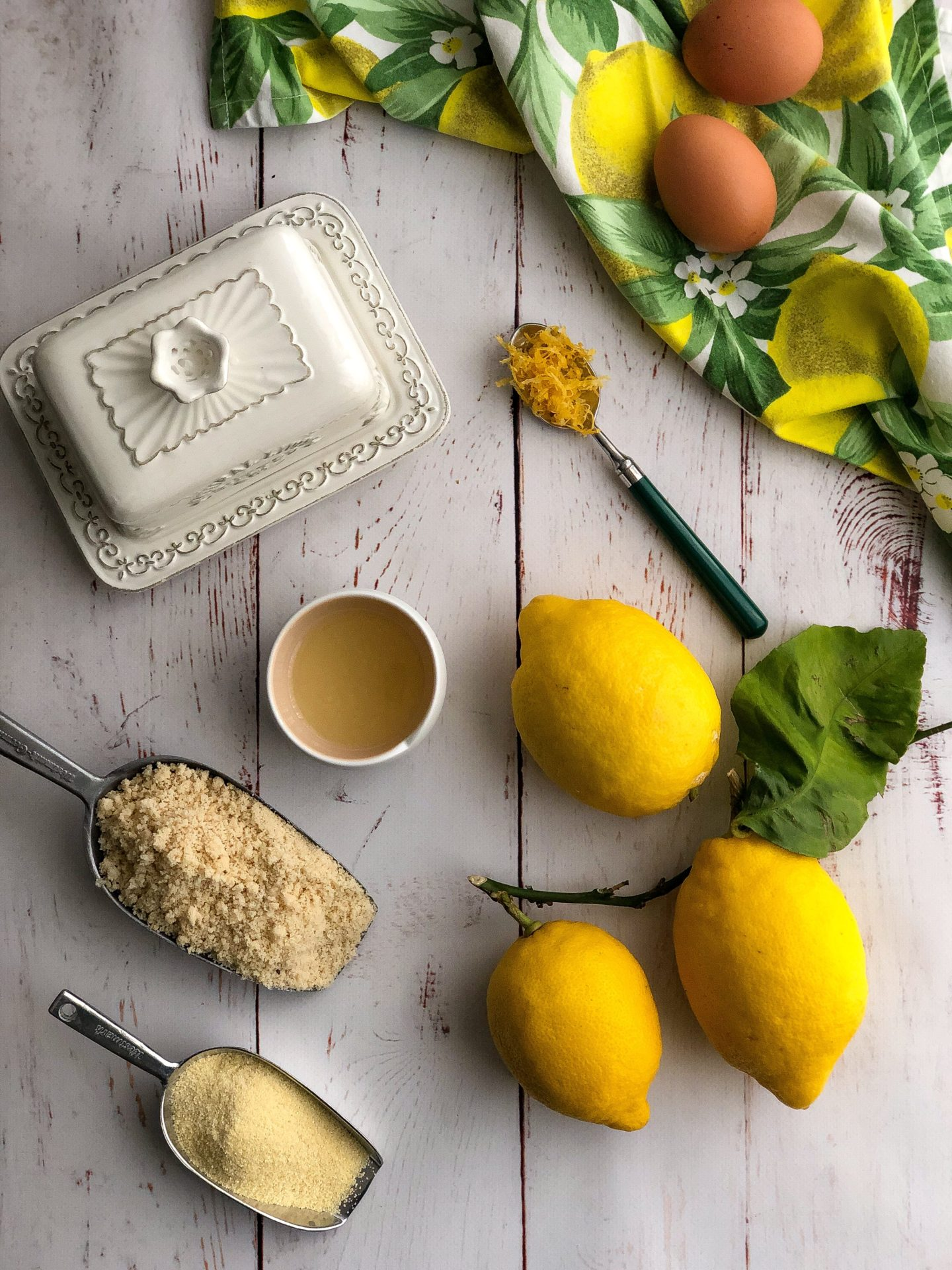 tortine di semolino al limone ingredienti