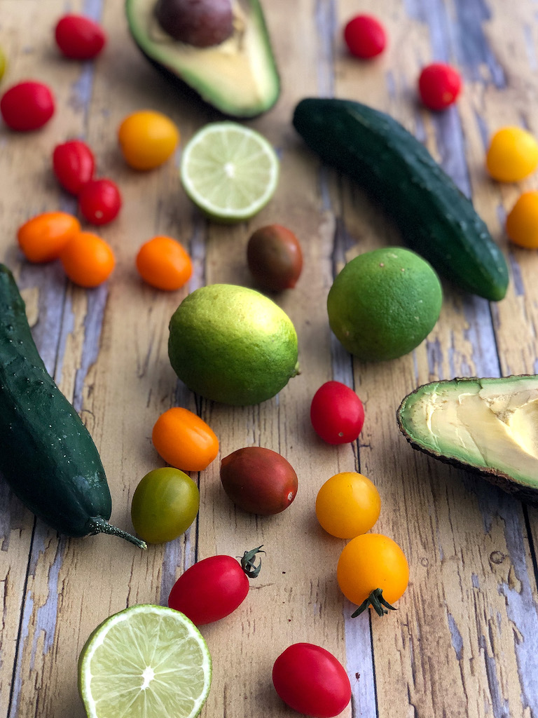 insalata di avocado gourmama ingredienti
