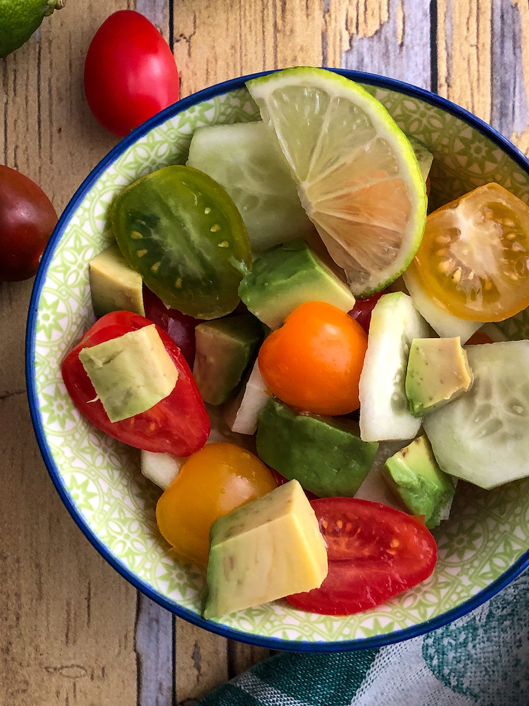 insalata di avocado gourmama presentazione dettaglio