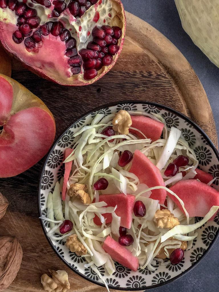insalata di cavolo bianco gourmama presentazione dettaglio