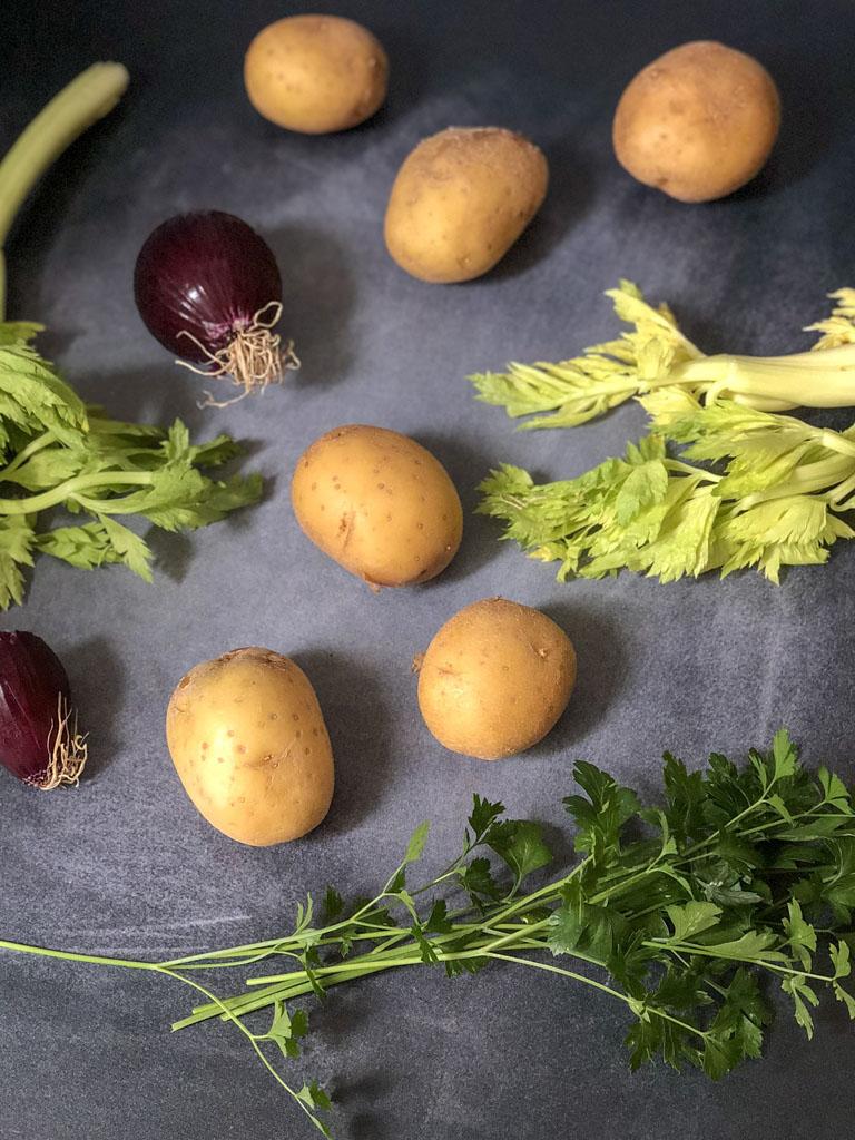 insalata di polpo gourmama verdure