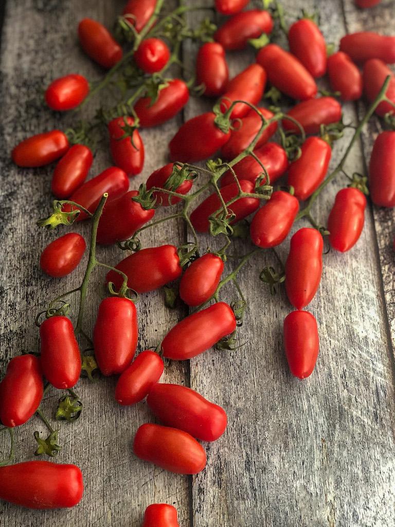 mini quiche ai pomodori datterini stracciatella maggiorana ingredienti
