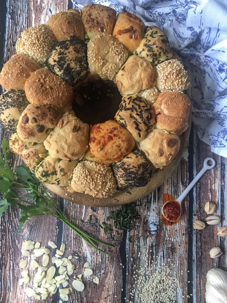monkey bread alle erbe e spezie presentazione
