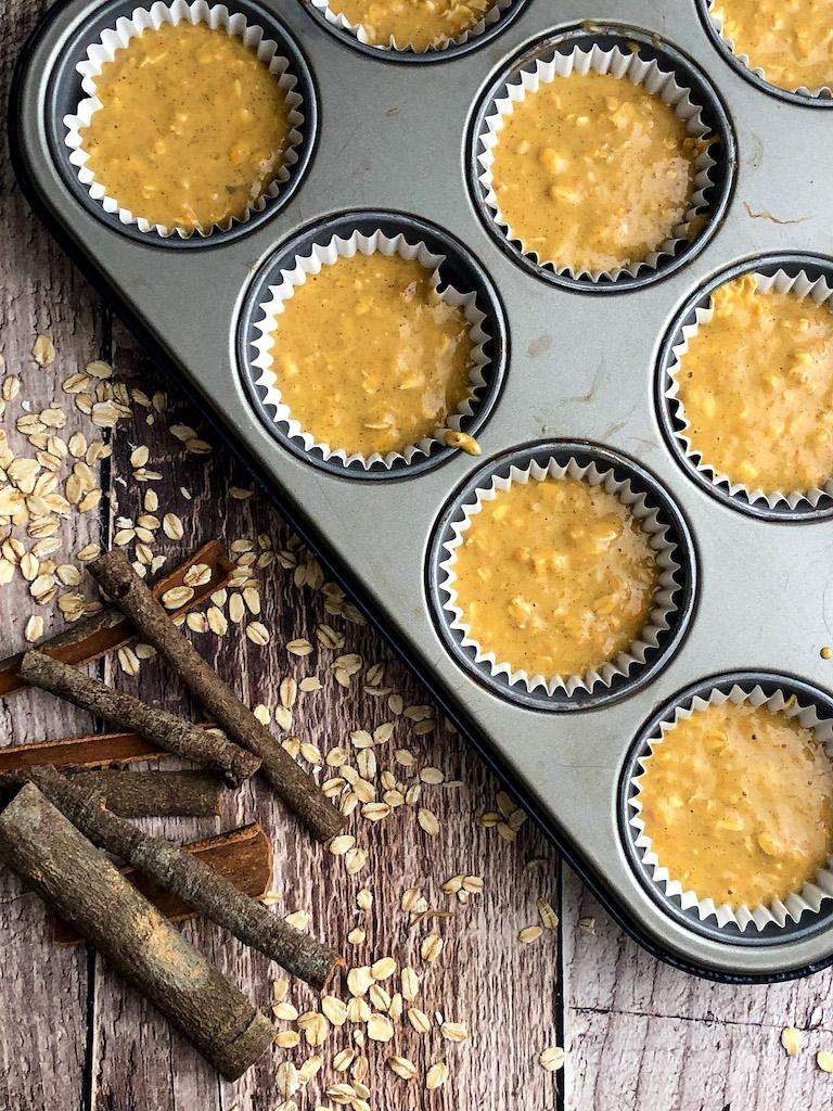 muffins con carote e banana preparazione_2
