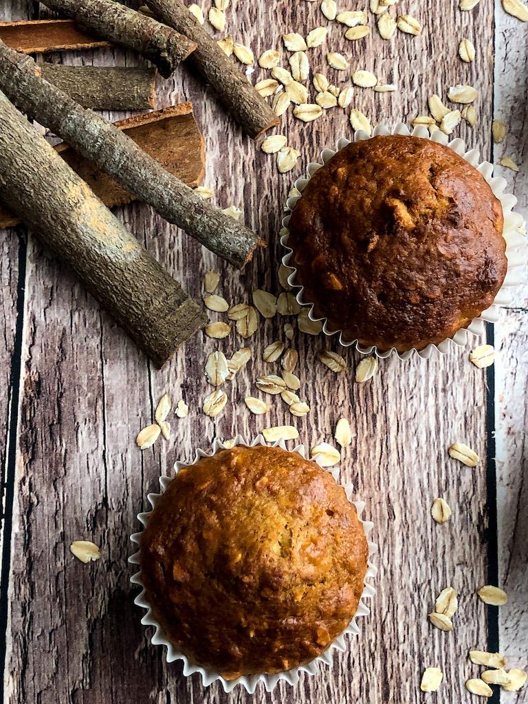 muffins con carote e banana presentazione dettaglio_1