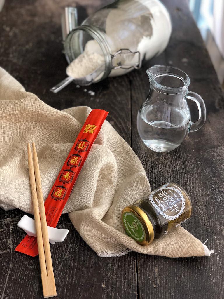 panini cinesi fioriti al vapore ingredienti_2