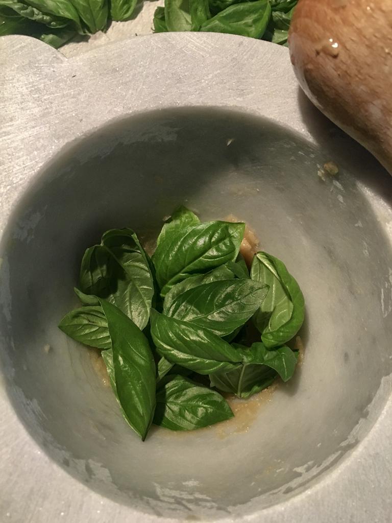 pesto alla genovese basilico