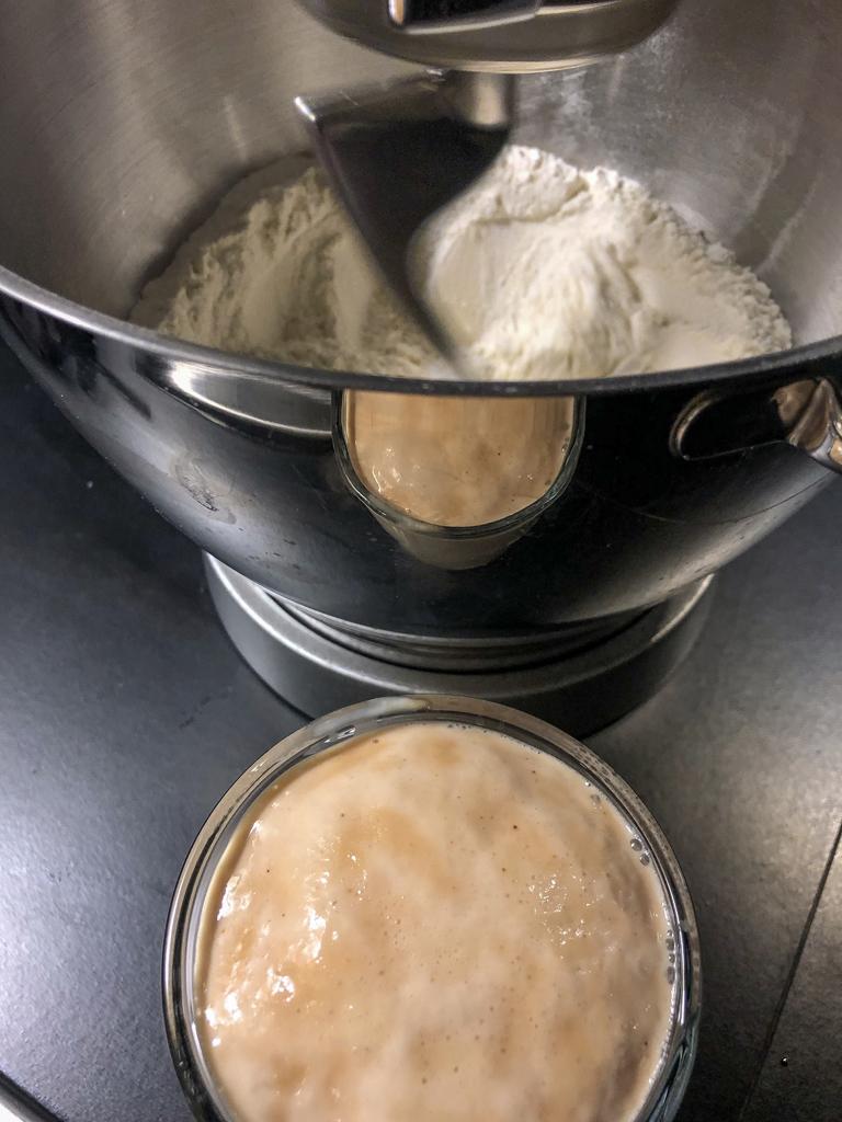 plumcake dolce salato al prosciutto crudo noci e fichi gourmama preparazione