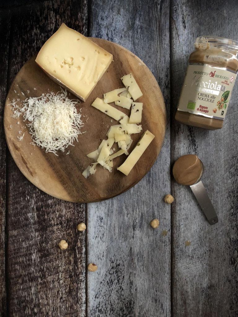 risotto alla crema di nocciole e fontina gourmama preparazione_1