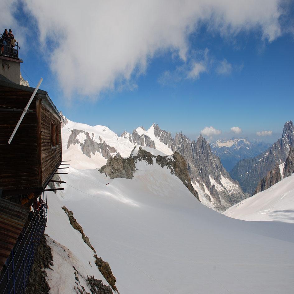 taste of courmayeur vista dal Monte Bianco