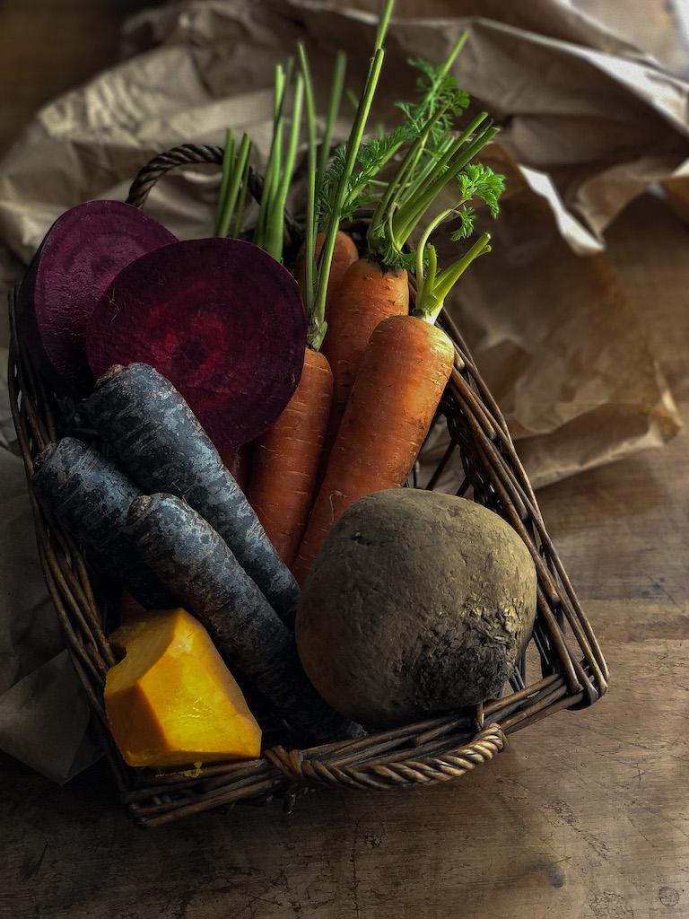 teglia di verdure bicolore ingredienti