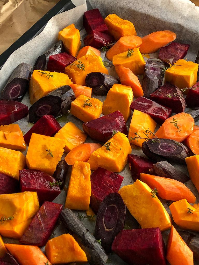 teglia di verdure bicolore preparazione_2