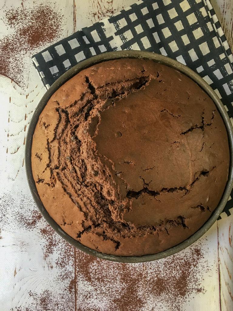 torta al cioccolato gourmama presentazione
