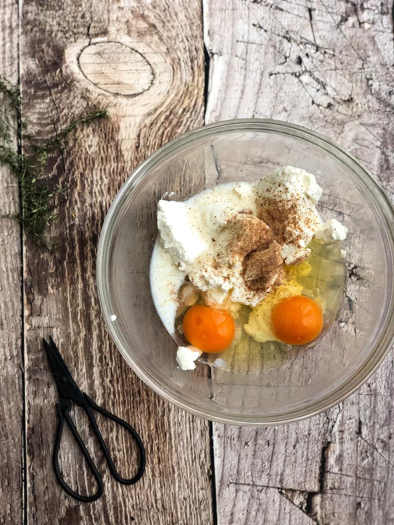 torta salata alla zucca e scamorza affumicata gourmama preparazione_1