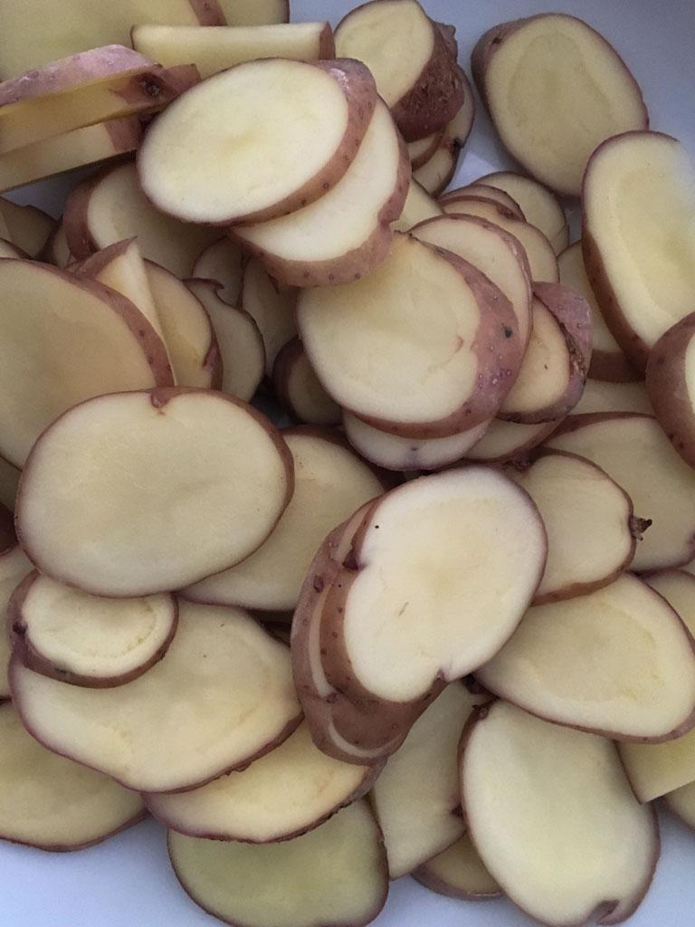 torta salata con agretti e patate gourmama patate tagliate