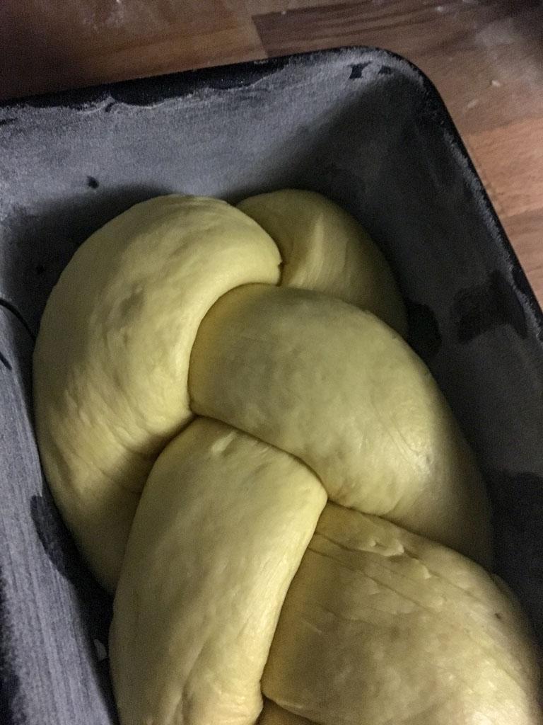 treccia di pane preparazione treccia_1
