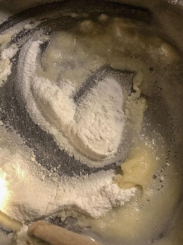 vellutata di finocchi con polvere di lardo preparazione_3