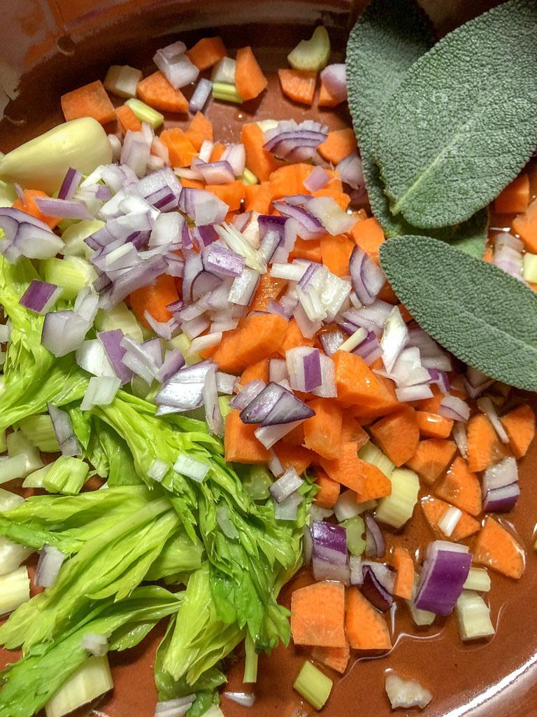 zuppa di ceci con verdurine preparazione_1