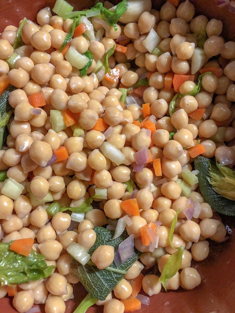 zuppa di ceci con verdurine preparazione_2