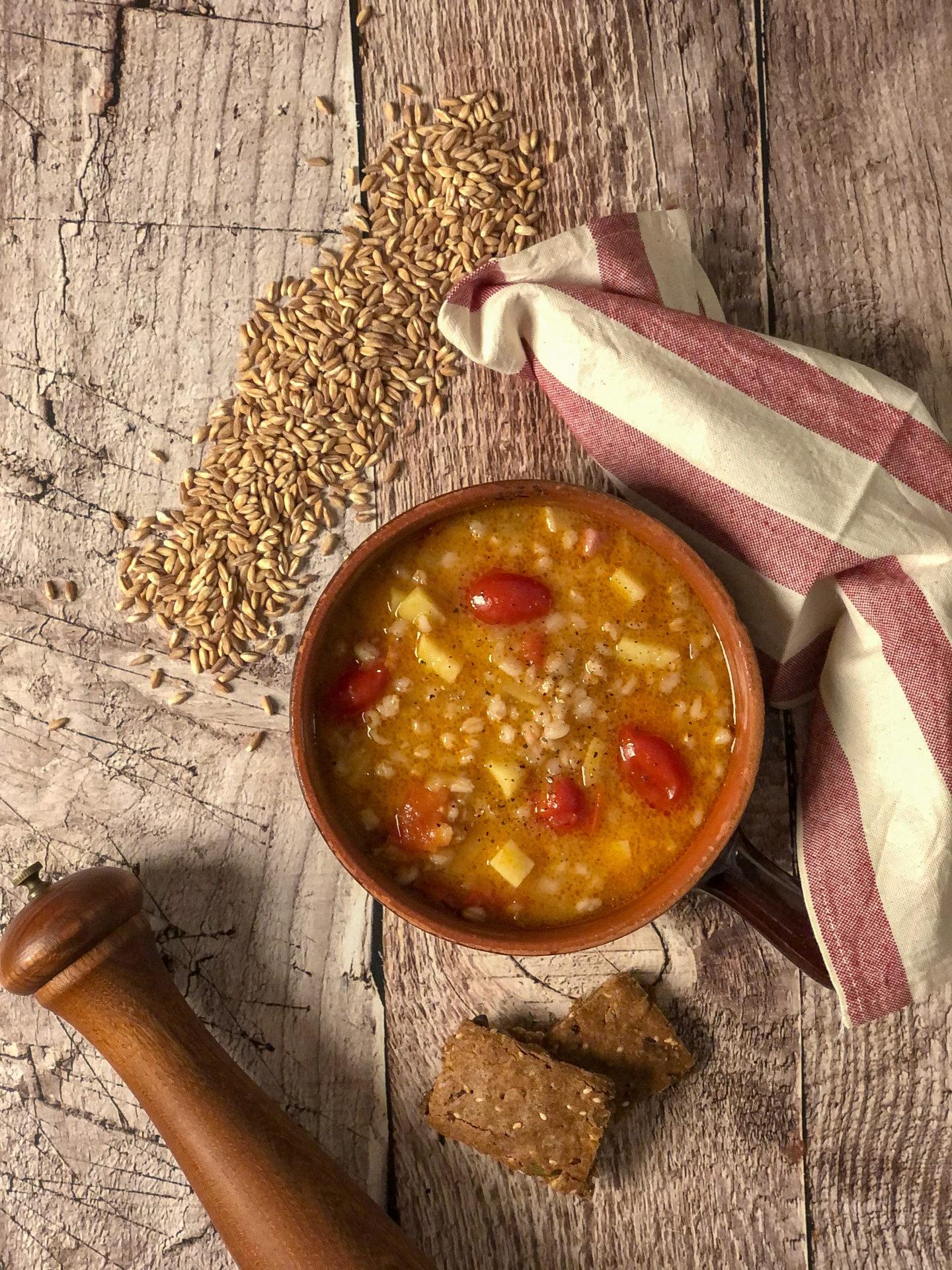 zuppa di farro gourmama presentazione_2